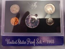 1968-S US Mint Proof Set 40% Silver Kennedy