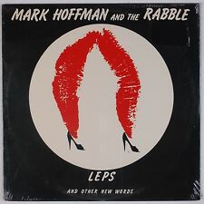 MARK HOFFMAN AND THE RABBLE: Leps and Other New Words SEALED '80 New Wave LP