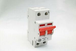 Wylex 40A 2 Pole Mains Isolator Switch WS402