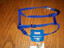 "Petco Blue Adjustable Harness 10-18"" 3/8""wide Dog"