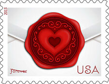 US 4741 Sealed with Love forever single (1 stamp) MNH 2013