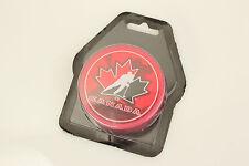 CANADA 2010-11 TEAM CANADA Winter Olympics Shadow Logo Red PUCK