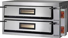 FORNO ELETTRICO PIZZA 2 CAMERE CM 72X72 TF 400 V Professionale 12000 W DIGITALE