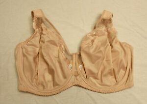 Gorsenia Women's Plus Luisse Full Figure Unlined Bra MP7 Beige K441 Size 40I NWT