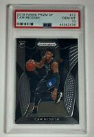 Cam Reddish 2019 Panini Prizm DP Rookie Card RC #12 PSA 10 Super LOW PSA POP!