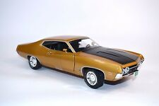 Ford Torino Cobra 1970 or 1:18 autoworld ERTL 1039 NEUF