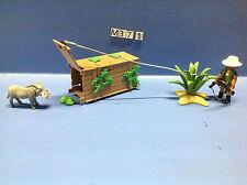 (M37.1) playmobil chasseur de la savane 4833 4826 4827