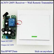 AC110V AC110V AC180V AC220V AC230V AC240V Wide Working Voltage Remote Switch