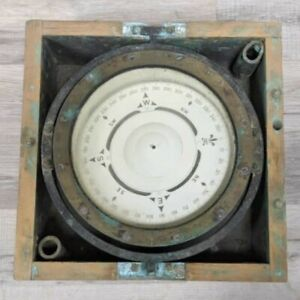 U.S. Navy Magnetic Compass by The Lionel Corporation 1942