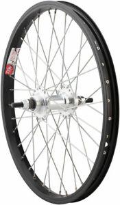 Sta-Tru Rear Wheel 18 x 1.75 Solid Axle 36 Spokes Includes Axle Nuts Black Rim