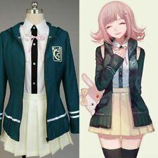 Danganronpa Chiaki Nanami Costume Jacket Dress School Girl Cosplay Uniform Suits