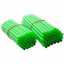 Tusk Spoke Sleeves Green KX125 KX100 KX250 KX250F KX450F