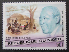 A.J.Luthuli Friedensnobelpreis 1960 Niger