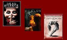 6 DVD HORROR MOVIE LOT~ DEAD SILENCE ~ OCULUS ~ LAST EXORCISM PART 2 ~ PHANTOM+!