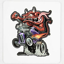 Zombie Hot Rod Wear mostro COUPE v8 Custom Muscle Car Adesivo Sticker Decal