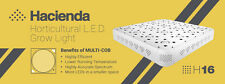 Hacienda H16 600W COB LED Hydroponic Grow Light Growth Bloom & Full Spectrum