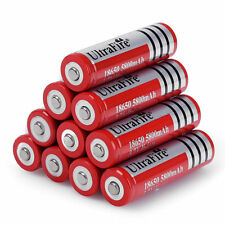 Batteria Ricaricabile UltraFire Red Edition 18650 a Litio da 5800mAh Li-ion 3.7V