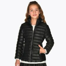 Mayoral Leather Jacket for Girls Silver 3412