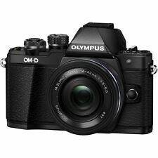 Olympus OM-D E-M10 Mark II Digital Camera with 14-42mm IIR Lens - Black