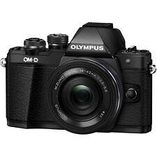 Olympus OM-D E-M10 Mark II Digital Camera with 14-42mm IIR Lens - Black