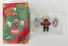 Coca Cola Christmas Ornament Can't Weight for the Holidays Enesco in Box 1993