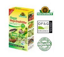 Neudorff Sluggo Slug and Snail Killer Organic Garden Allotment 1kg Shaker Box