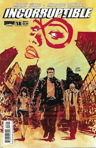 Incorruptible Comic 18 Cover A First Print 2011 Mark Waid Marcio Takara Boom