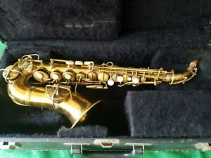 1922 Conn Curved Soprano Saxophone - High F!