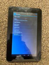 """Medion 7"""" LifeTab Tablet 7 Inch 8 GB Camera Lens Broken Still All Work For Spare"""
