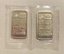 More details for johnson matthey 1oz silver bars