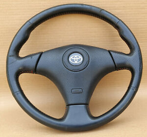 TOYOTA Corolla AE100 AE101 AE111 CELICA EP91 Rare GT Steering Wheel Oem Jdm used