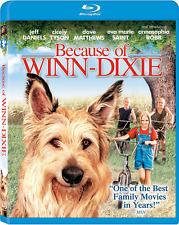 Because of Winn-Dixie [Blu-ray][NEW] FREE SHIPPING