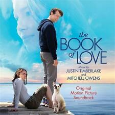 THE BOOK OF LOVE SOUNDTRACK Justin Timberlake CD NEW