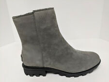 Sorel Phoenix Zip Boots, Quarry Grey, Womens 8.5 M