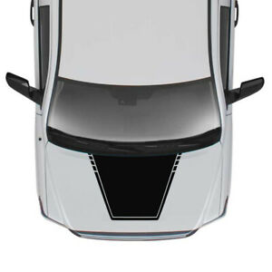Hood Decal FITS Tundra Toyota Mirror 2017 2018 2019 2020 2022 bonnet scoop vent