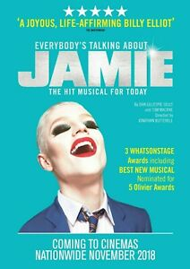 EVERYBODY'S TALKING ABOUT JAMIE POSTER - CHOOSE SIZE - FRAMED OPTION a