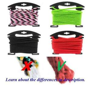 Polypropylene braided rope - 6mm, 8mm, 10mm - Different Colours