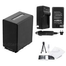 NP-FH100 Battery + Charger + BONUS for Sony DCR-DVD103 DVD505 DVD808 DVD92