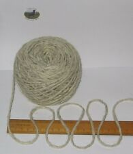 900g 9 balls 100% pure British undyed Swaledale Chunky knitting wool Cream Grey