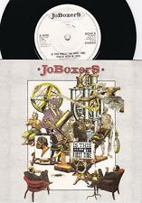 Joboxers ORIG UK PS 45 Is this really the first time NM '85 RCA New wave Soul