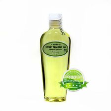 Organic Sweet Almond Carrier Oil Cold Pressed 2 Oz 4 Oz 8 Oz 12 Oz -Up To 7 Lb