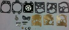 Five Walbro K10-wat  replacement carburetor rerbuild kits