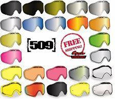 509 lente de repuesto de las gafas siniestra X5 Doble Panel Anti Niebla Moto De Nieve Nieve Esquí