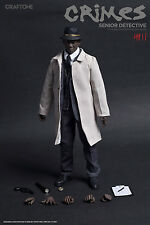 Craftone 1/6 CT009 Crimes Senior Detective Morgan Freeman Action Figure & Head