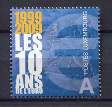 39995) LUXEMBOURG 2009 MNH**  10 Years Euro 1v