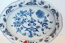 VTG BLUE DANUBE blue onion China Individual Pasta Bowl Serving Platter