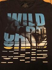 Express Wild Card Girl with Bikini Playing Cards T Shirt Size S
