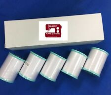 Genuine Brother Embroidery Bobbin Thread, White #90,1100 metres,5 PACK XC5996001