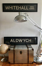 ALDWYCH - LONDON Original Vintage Bus Blind 70s/80s - 5/5 ***** ETSY SELLER!