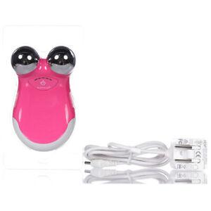 NuFace Mini Facial Toning Device Pink w/o Box